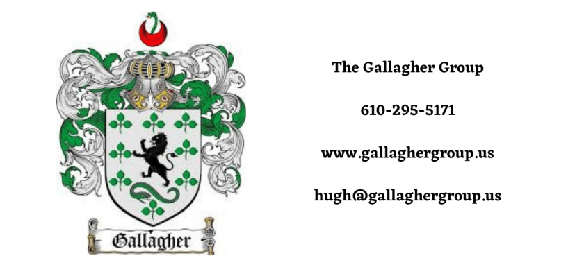 the gallagher group logo and contact